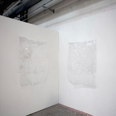 S1+S2, 2015. 120 x 85 x 20 each. Thermoformed polycarbonate. Exhibition View. - © Ben Elliot