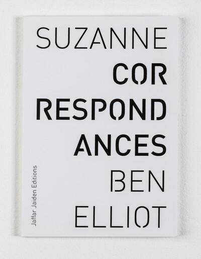 Correspondances, 2014. 60 pages. Jaffar Jaiden Editions. - © Ben Elliot