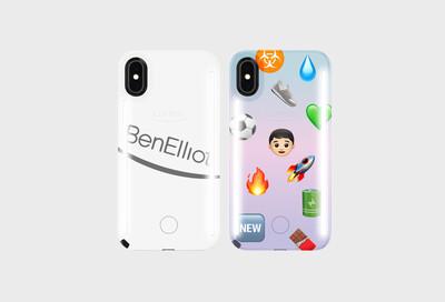 (link: http://www.benelliotshop.com text: shop Ben Elliot x LuMee here popup: yes) - © Ben Elliot