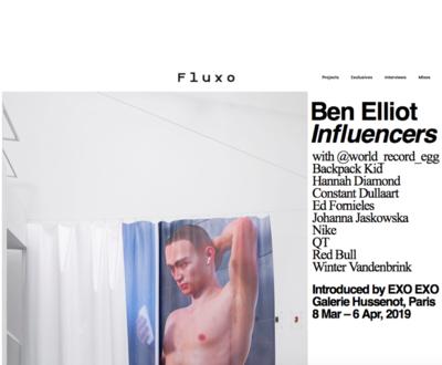 (link: http://www.ofluxo.net/influencers-by-ben-elliot/ text: read more popup: yes) - © Ben Elliot