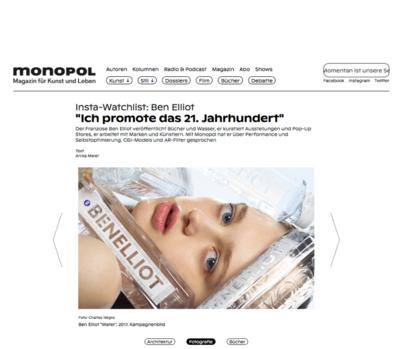 (link: https://www.monopol-magazin.de/instaram-ben-elliot text: read more popup: yes) - © Ben Elliot