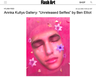 Unreleased Selfies - © Ben Elliot